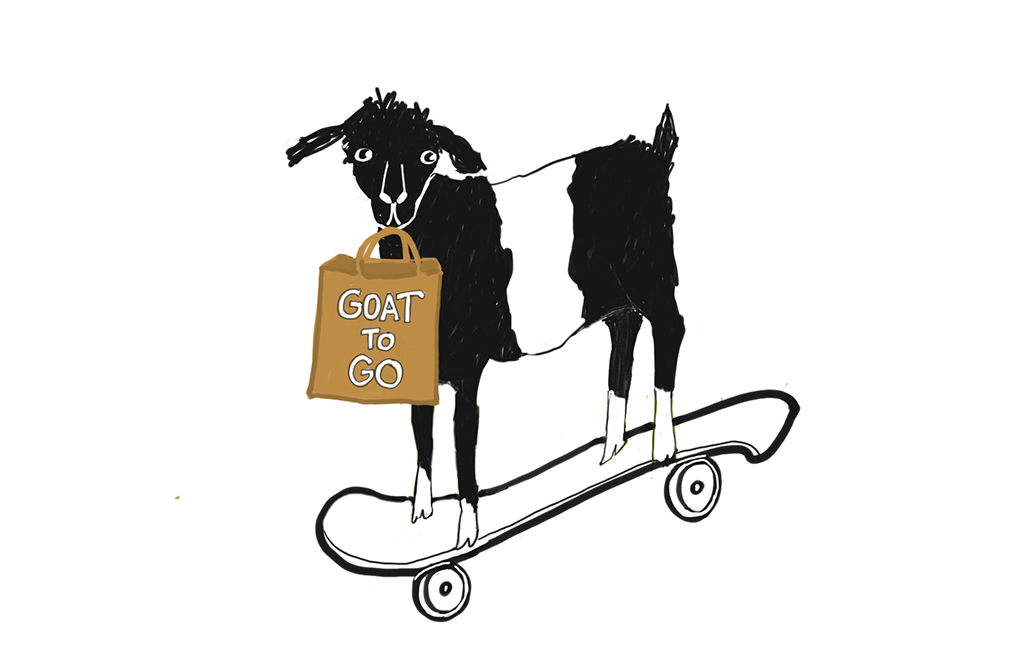 Goat to go