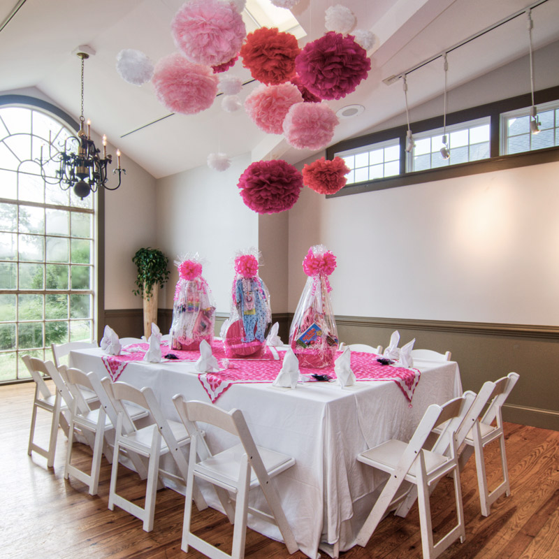 Baby shower at Fearrington Village