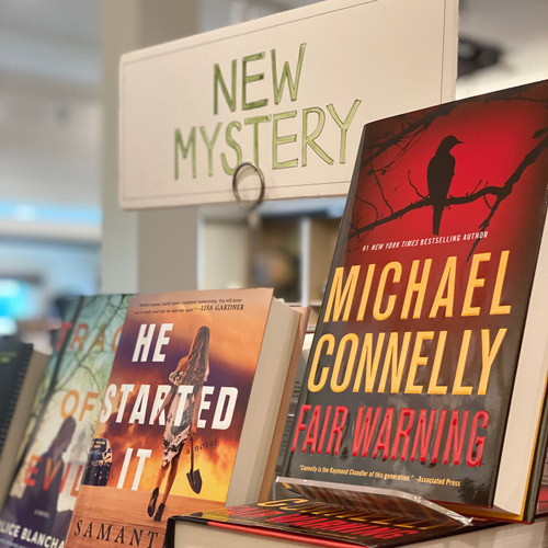 new mysteries at McIntyre's Books