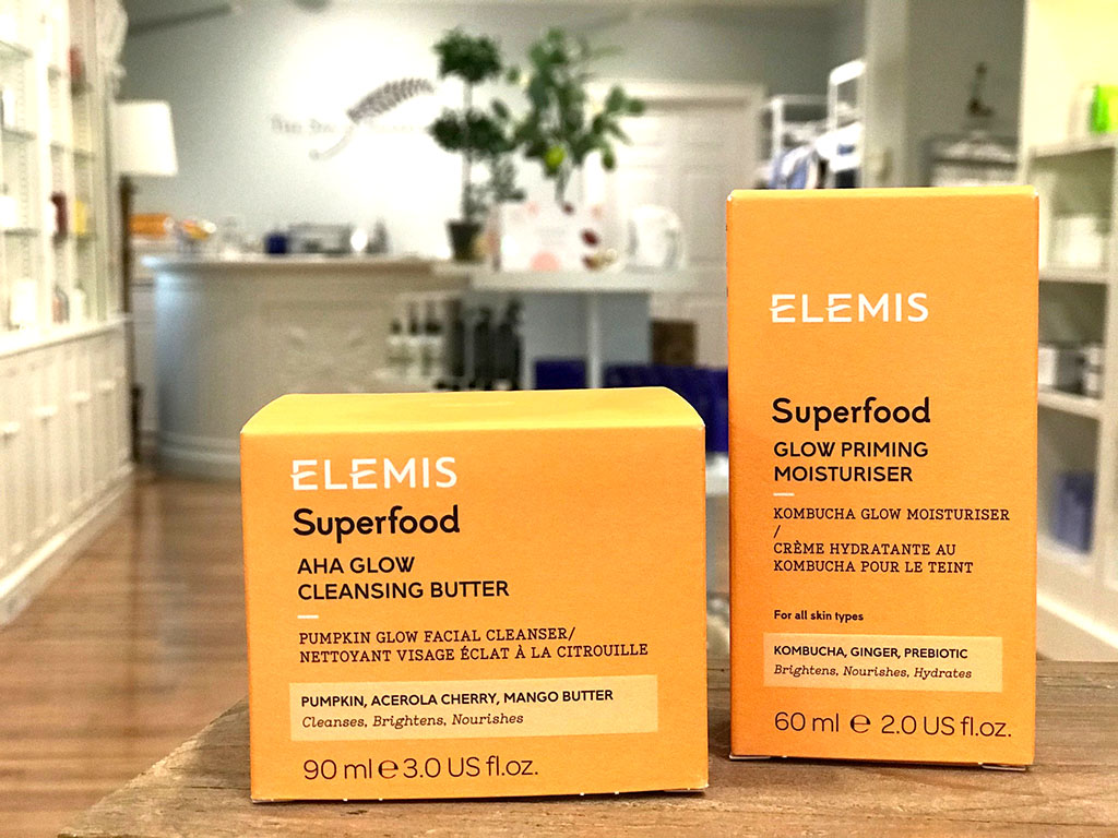 Elemis super food at Fearrington