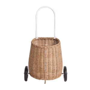 CHILD LUGGY ROLLER BASKET IN STRAW