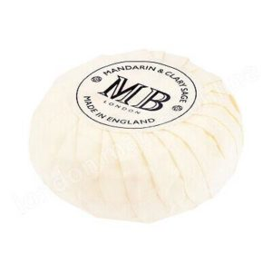 73 COLLECTION MANDARIN/CLARY SAGE 30G PLEAT WRAP SOAP