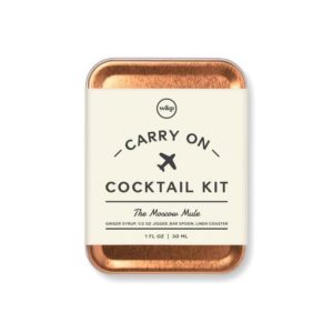 W&p – THE MOSCOW MULE CARRY ON COCKTAIL KIT