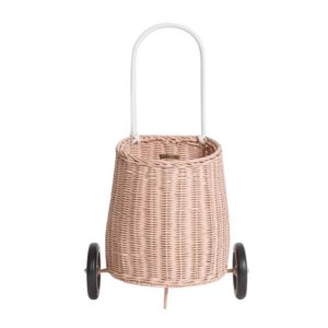 CHILD LUGGY ROLLER BASKET IN ROSE