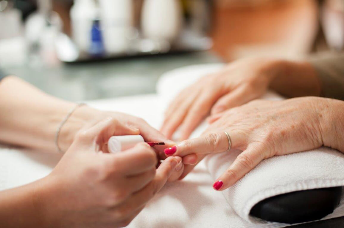 nail care at fearrington spa