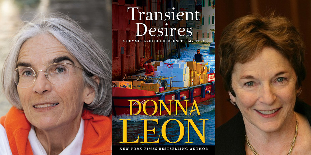 Transient Desires by Donna Leon with Frances Mayes