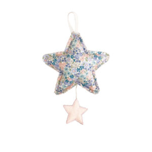 ALIMROSE – STAR MUSICAL IN PINK LINEN AND LIBERTY BLUE