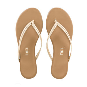 TKEES – DUOS SLIPPER IN OYSTER & SHELL