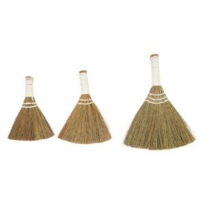 SMALL WHISK BROOMS, SET OF THREE