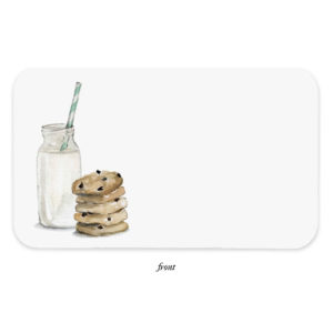 E. FRANCES – COOKIES AND MILK LITTLE NOTES