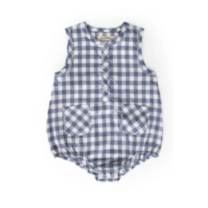 PEHR DESIGNS – CHECKMATE ONE PIECE ROMPER (6-12MTH)