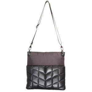 QUILTED CROSSBODY IN BLACK