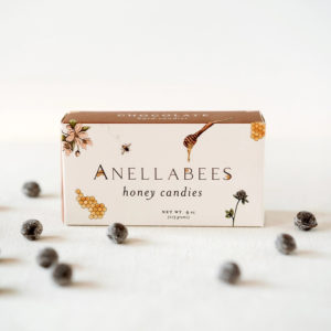 ANELLABEES – CHOCOLATE HONEY HARD CANDY