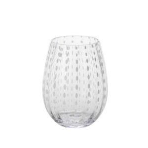 <sup>WHITE DOTS STEMLESS GLASS</sup>