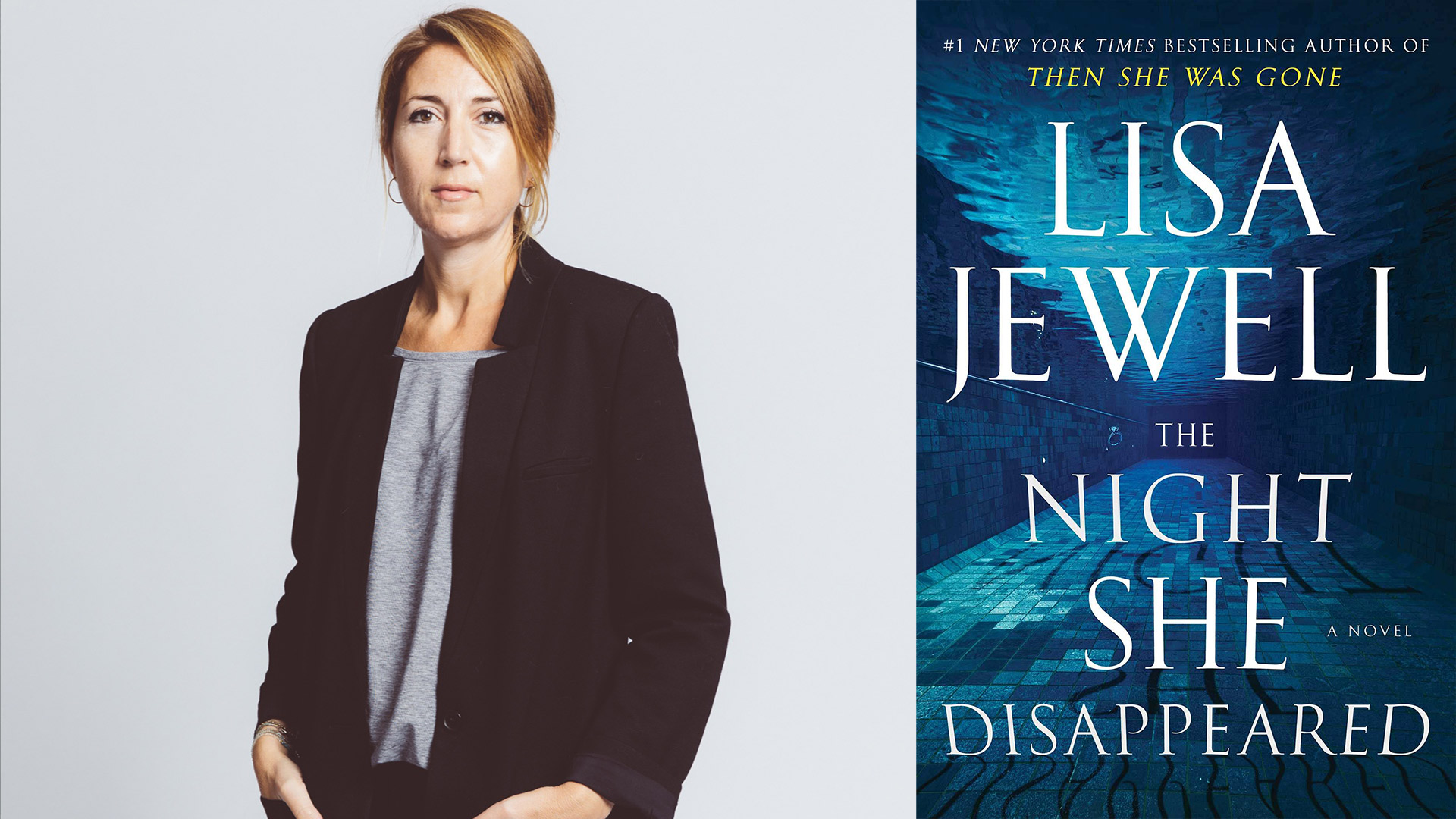 Lisa Jewell, author of The Night She Disappeared