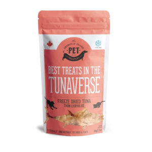 BEST TREATS IN THE TUNAVERSE FLAKES FOR PET FOOD