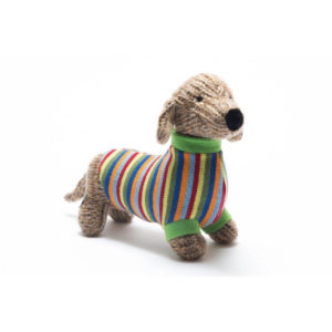 BEST YEARS LTD – KNITTED SAUSAGE DOG