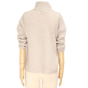 KINROSS -TEXTURED SLOUCHY CASHMERE PULLOVER