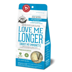LOVE ME LONGER – BOOST MY IMMUNITY DOG BISCUIT