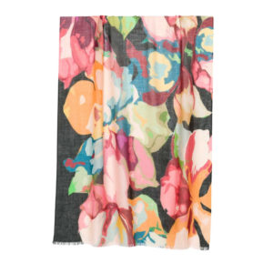 KINROSS – WINTER FLORAL SCARF