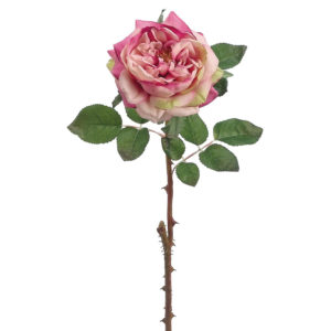 FAUX ENGLISH ROSE IN PINK