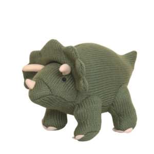 BEST YEARS LTD – KNITTED TRICERATOPS DINAUSOR