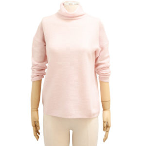 KINROSS – TEXTURED SLOUCHY CASHMERE PULLOVER